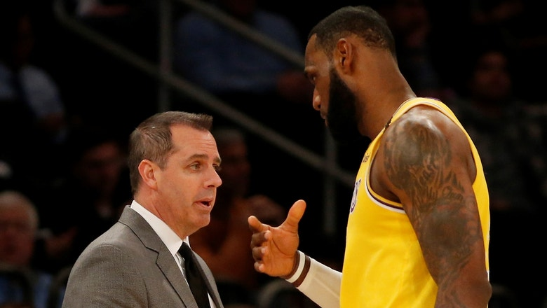 Ryan Hollins gives some credit to Frank Vogel  for LeBron's dominating performance