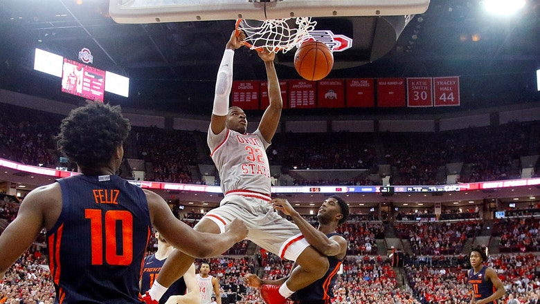 No. 19 Ohio St with a key win in Big Ten on Senior Night over No. 23 Illinois 71-63