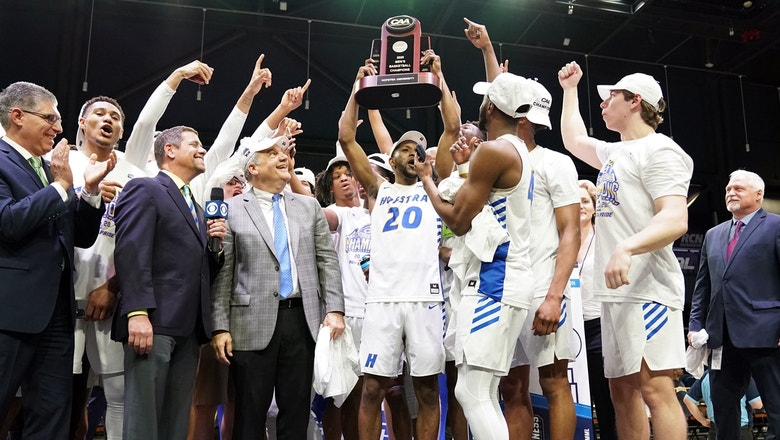 Hofstra pulls away from Northeastern late to clinch first berth to the NCAA Tournament in 19 years