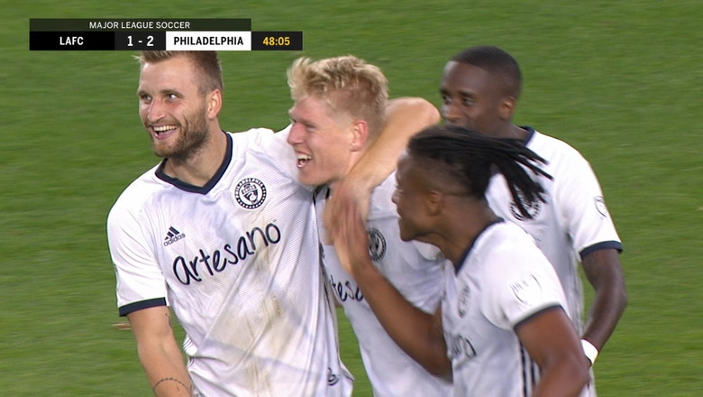 Jakob Glesnes drills free kick from 35 yards out for insane Philadelphia Union goal