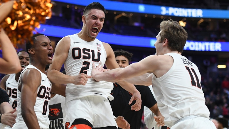 Alfonso Plummer hits 11 threes, but Oregon State makes last second shot to beat Utah in Pac-12
