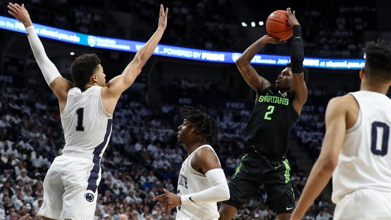 No. 16 Michigan State storms back from 19 down to stun No. 20 Penn State on the road