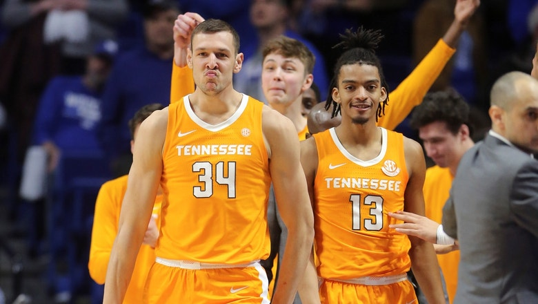 Tennessee silences No. 6 Kentucky, erasing 15-point lead on the road