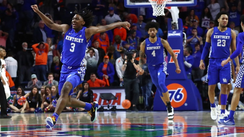 No. 6 Kentucky stuns Florida overcoming 18-point deficit to win 71-70