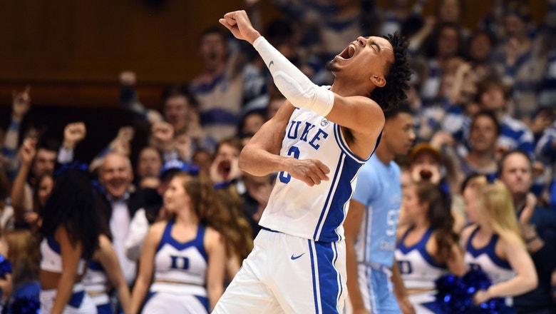 No. 12 Duke tops North Carolina, ensures Roy Williams' worst finish in 32 seasons