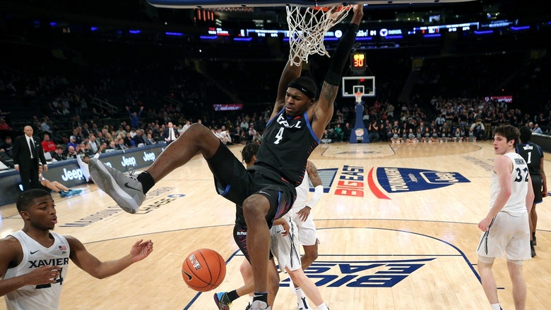 DePaul hands Xavier crucial loss to advance in the Big East Tournament