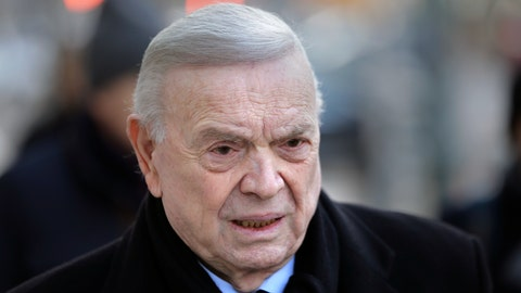 <p>               FILE - In this Dec. 13, 2017, file photo, Jose Maria Marin, of Brazil, arrives to federal court in the Brooklyn borough of New York. Marin, the former head of Brazilian soccer, was granted compassionate release from a U.S. federal prison on Monday, March 30, 2020, amid the new coronavirus pandemic, his sentence cut short by about eight months. Marin was sentenced to four years in prison in August 2018 for his participation in a scheme to accept bribes in exchange for the media and marketing rights to soccer tournaments. (AP Photo/Seth Wenig, Fle)             </p>