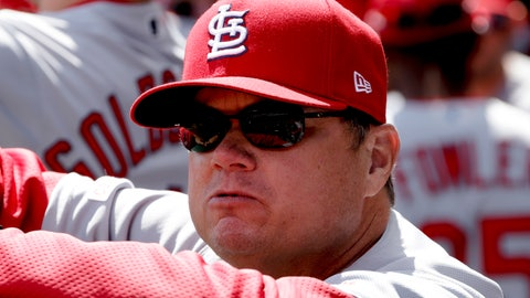 <p>               FILE - In this April 1, 2019, file photo, St. Louis Cardinals manager Mike Shildt stands in the dugout before a baseball game against the Pittsburgh Pirates in Pittsburgh. The Cardinal return largely intact after battling the Cubs for the NL Central, then advancing to the NLCS, where they lost to the Nationals in four games. (AP Photo/Gene J. Puskar, File)             </p>