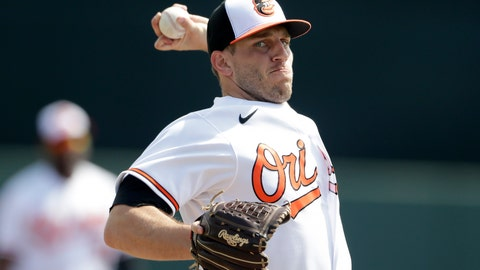 <p>               FILE - In this Feb. 25, 2020, file photo, Baltimore Orioles starting pitcher John Means warms up before a baseball spring training game against the Tampa Bay Rays in Sarasota, Fla. Following a sensational rookie year in which he made the AL All-Star team, Orioles left-hander John Means is looking for an encore as the new ace of the staff. (AP Photo/John Bazemore, File)             </p>