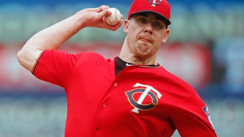 <p>               FILE - In this June 27, 2019, file photo, Minnesota Twins relief pitcher Trevor May throws against the Tampa Bay Rays during a baseball game in Minneapolis. Trevor May has been preparing for this. Not precisely for a global pandemic that would bring sports — and so much else — to an unprecedented standstill. But a break in the baseball schedule? That's something the Minnesota Twins reliever — and pro video game streamer — thought might happen eventually. (AP Photo/Jim Mone, File)             </p>