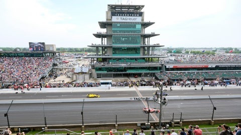 <p>               FILE - In this May 24, 2019, file photo, cars take to the track during the final practice session for the Indianapolis 500 IndyCar auto race at Indianapolis Motor Speedway in Indianapolis. The Indianapolis 500 scheduled for May 24 has been postponed until August because of the coronavirus pandemic and won't run on Memorial Day weekend for the first time since 1946.  The race will instead be held Aug. 23. (AP Photo/AJ Mast, File)             </p>