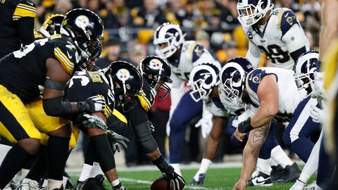 <p>               FILE - In this Nov. 10, 2019, file photo, the Pittsburgh Steelers offense, left, lines up against the Los Angeles Rams' defense during the first half of an NFL football game in Pittsburgh. The NFL's decision to expand the playoffs from 12 to 14 teams this season could have a major impact on the league based on how things have played out in the past.(AP Photo/Don Wright, File)             </p>