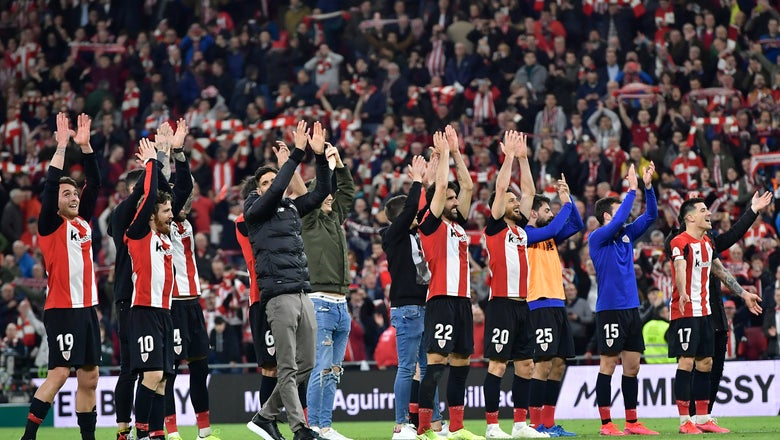Basque rivals Athletic and Sociedad try to reach Copa final