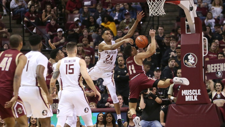 No. 7 Florida State tops Boston College to clinch ACC title