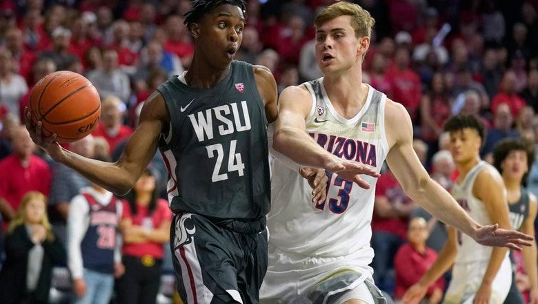 Big second half pushes Arizona past Washington State 83-62