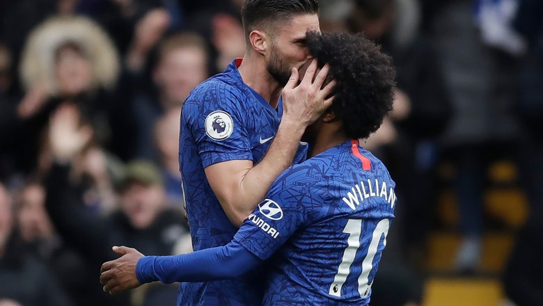 Gilmour stars as Chelsea routs Everton 4-0 in Premier League