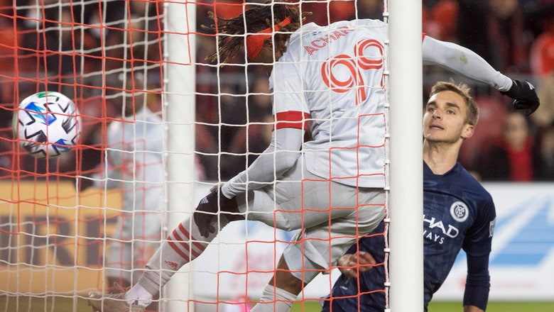Achara scores in MLS debut to lift Toronto FC past NYCFC