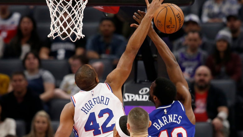 Harris scores 28 as Sixers beat Kings to end long road skid