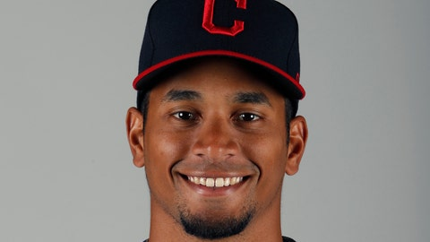 <p>               FILE - This is a 2020 file photo showing Oscar Mercado of the Cleveland Indians baseball team. Indians outfielder Oscar Mercado will undergo an MRI on his left wrist, which he injured while making a diving catch in an exhibition game. Manager Terry Francona said Mercado, who had a solid rookie season in 2019 for Cleveland, will have the imaging tests on Friday, March 6, 2020. (AP Photo/Ralph Freso, File)             </p>