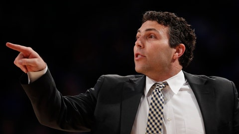 <p>               Georgia Tech head coach Josh Pastner yells to his players in the first half of an NCAA college basketball game against Duke Wednesday, Jan. 8, 2020, in Atlanta. (AP Photo/John Bazemore)             </p>