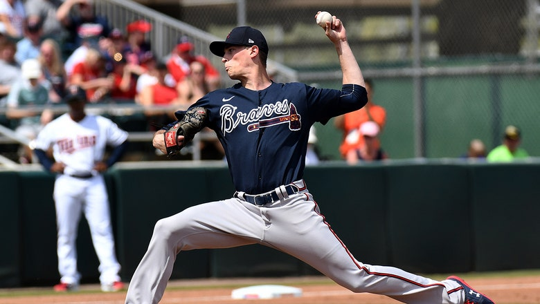 Practice Like The Pros: Max Fried demonstrates how to throw his curveball