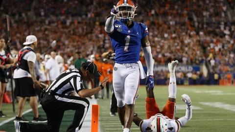 Jacksonville Jaguars (via Los Angeles Rams) — C.J. Henderson, DB, Florida (14)