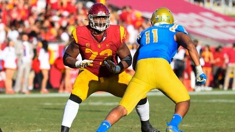 Seattle Seahawks — Austin Jackson, OL, USC (18)