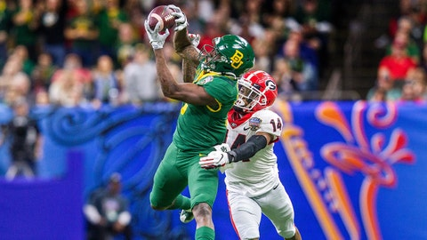 Green Bay Packers — Denzel Mims, WR, Baylor (NR)