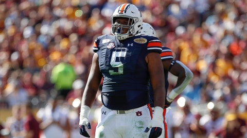 Jacksonville Jaguars — Derrick Brown, DT, Auburn (7)
