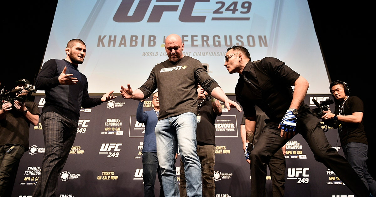 Can Dana White keep UFC 249 alive with Khabib Nurmagomedov stuck in Russia?