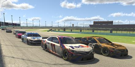 Race fans were the winners in the NASCAR virtual race on Sunday