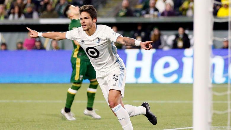 Molino scores twice, United top Portland 3-1 in 2020 MLS opener