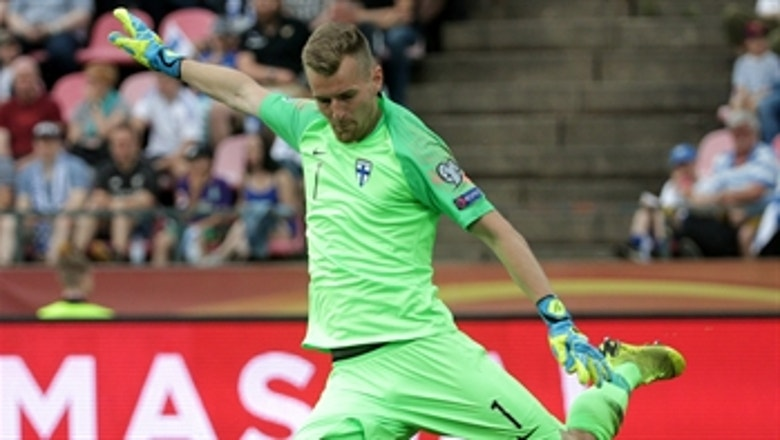 Bayer Leverkusen and Finland keeper Lukas Hradecky on Euros: 'The euphoria is there'