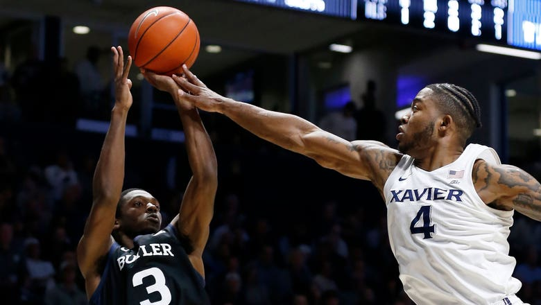 Baldwin's game winner propels Butler to 72-71 win over Xavier