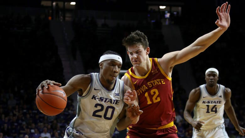 Sneed scores 31, K-State ends regular season with 79-63 win over Iowa State