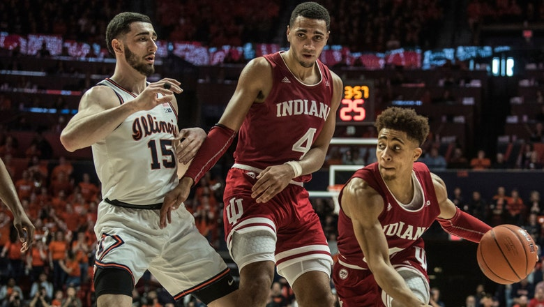 Hoosiers come up just short in 67-66 loss to Illini