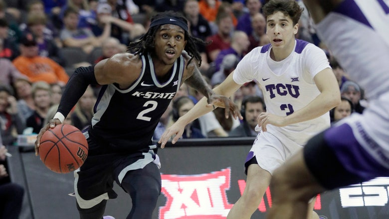 Kansas State holds off TCU 53-49 in Big 12 tourney