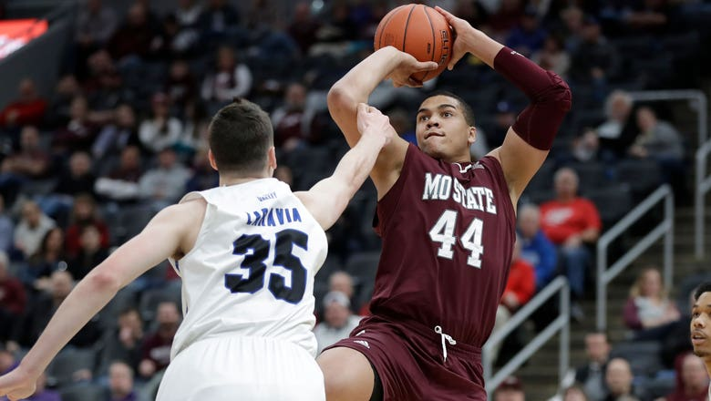 Missouri State cruises past Indiana State 78-51 to advance in MVC tournament
