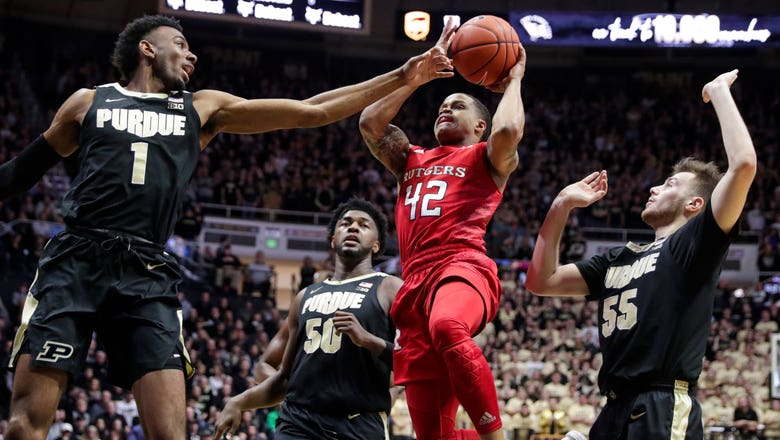 Purdue suffers first-ever home loss to Rutgers, 71-68 in overtime