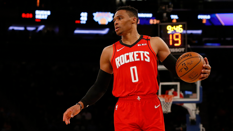 Russell Westbrook is supporting his hometown of Los Angeles during the COVID-19 pandemic