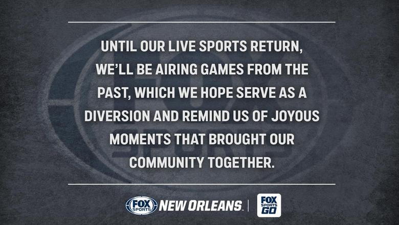 FOX Sports New Orleans - Encore Presentation Broadcast Schedule