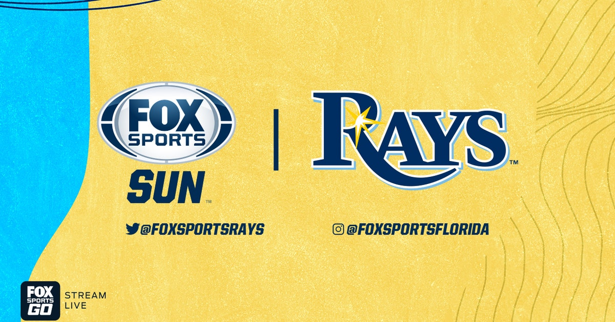 FOX Sports Sun announces pre-and-postgame coverage for Tampa Bay Rays Wild Card series