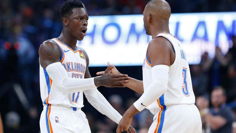 Dennis Schroder has 24 in OKC's 109-94 loss to Clippers