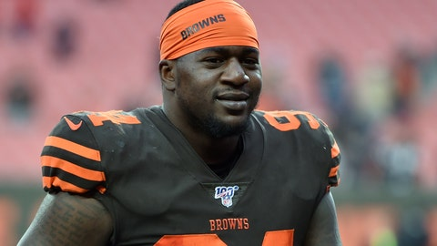 <p>               FILE - In this Dec. 8, 2019, file photo, Cleveland Browns defensive end Bryan Cox walks off the field after an NFL football game against the Cincinnati Bengals in Cleveland. The Bills have signed defensive end Bryan Cox Jr., whose father never hid his dislike for Buffalo during his days playing for the AFC rival Miami Dolphins in the 1990s. Cox Jr. was signed to a one-year contract Wednesday, April 29, 2020, after splitting last season between Carolina and Cleveland. (AP Photo/David Richard, File)             </p>