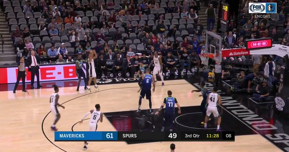 WATCH: Doncic finds Finney-Smith for the Lob | Mavs ENCORE (VIDEO)