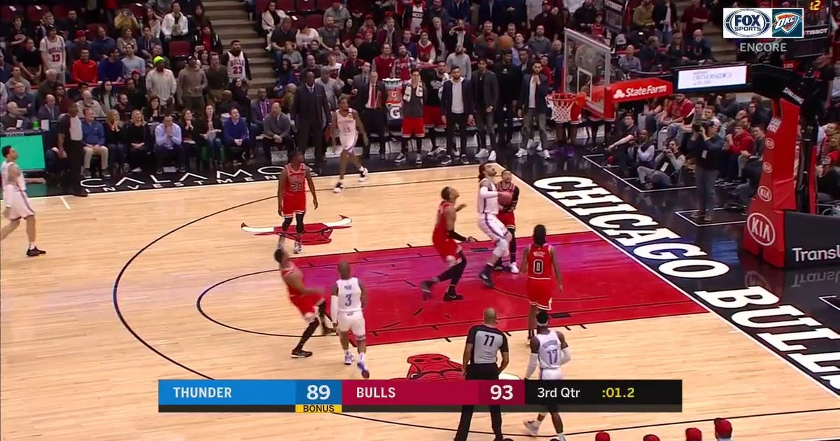 WATCH: Chris Paul Nails the Shot at the Buzzer | Thunder ENCORE (VIDEO)