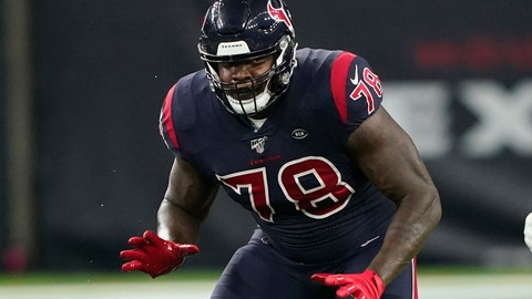 <p>               FILE - In this Nov. 21, 2019, file photo, Houston Texans offensive tackle Laremy Tunsil (78) is shown during the first half of an NFL football game against the Indianapolis Colts in Houston. The Houston Texans have signed left tackle Laremy Tunsil to a three-year, $66 million contract extension. (AP Photo/David J. Phillip, File)             </p>