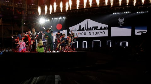 "<p>               FILE - In this Sunday, Sept. 18, 2016 file photo, performers dance next to a sign that reads: ""See you in Tokyo"" during the closing ceremony of the Rio 2016 Paralympic Games at the Maracana Stadium in Rio de Janeiro, Brazil. Along with the Olympics, the Paralympics have been pushed back to 2021 because of the coronavirus pandemic. The new dates are Aug. 24-Sept. 5. For many Paralympians, a delay seemed like the only option. Paralympic athletes often have specific medical and training needs which can't always be met at a time when people are staying home and doctors are helping out overloaded ERs. (AP Photo/Leo Correa, File)             </p>"