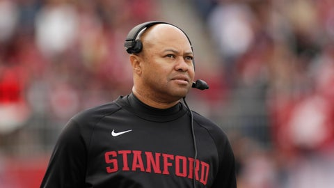 <p>               FILE - In this Nov. 16, 2019, file photo, Stanford head coach David Shaw looks on during the first half of an NCAA college football game against Washington State in Pullman, Wash. Colleges around the country finished off their football signing classes this week, proudly touting scores of African-American athletes as their next big stars. A review of all 130 FBS schools found shockingly low numbers, with blacks still largely shut out of head coaching positions and even more so the prime coordinator spots.   (AP Photo/Young Kwak, File)             </p>
