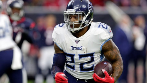 <p>               FILE — In this Dec. 29, 2019, file photo, Tennessee Titans' Derrick Henry plays against the Houston Texans in an NFL football game in Houston. The Tennessee Titans have tagged Henry as their franchise player, making sure they keep the NFL rushing leader around for at least this season. (AP Photo/Michael Wyke, File)             </p>